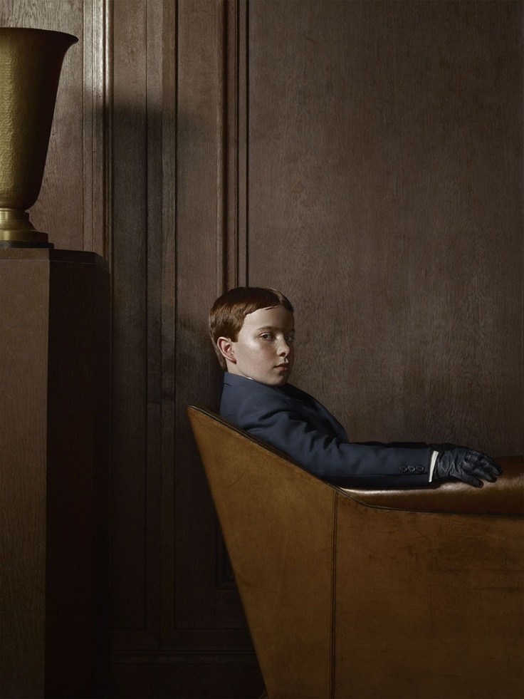 Berlin, Portrait 01, 22 April 2012 © Erwin Olaf, courtesy Hamiltons Gallery, London