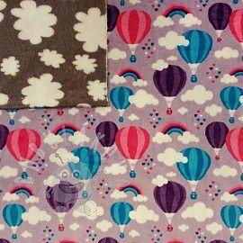 Wellsoft balony fialová