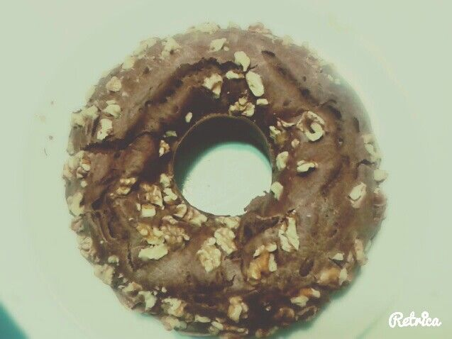 Chocolate and nuts biscuit.yummy yummy!!!! :p