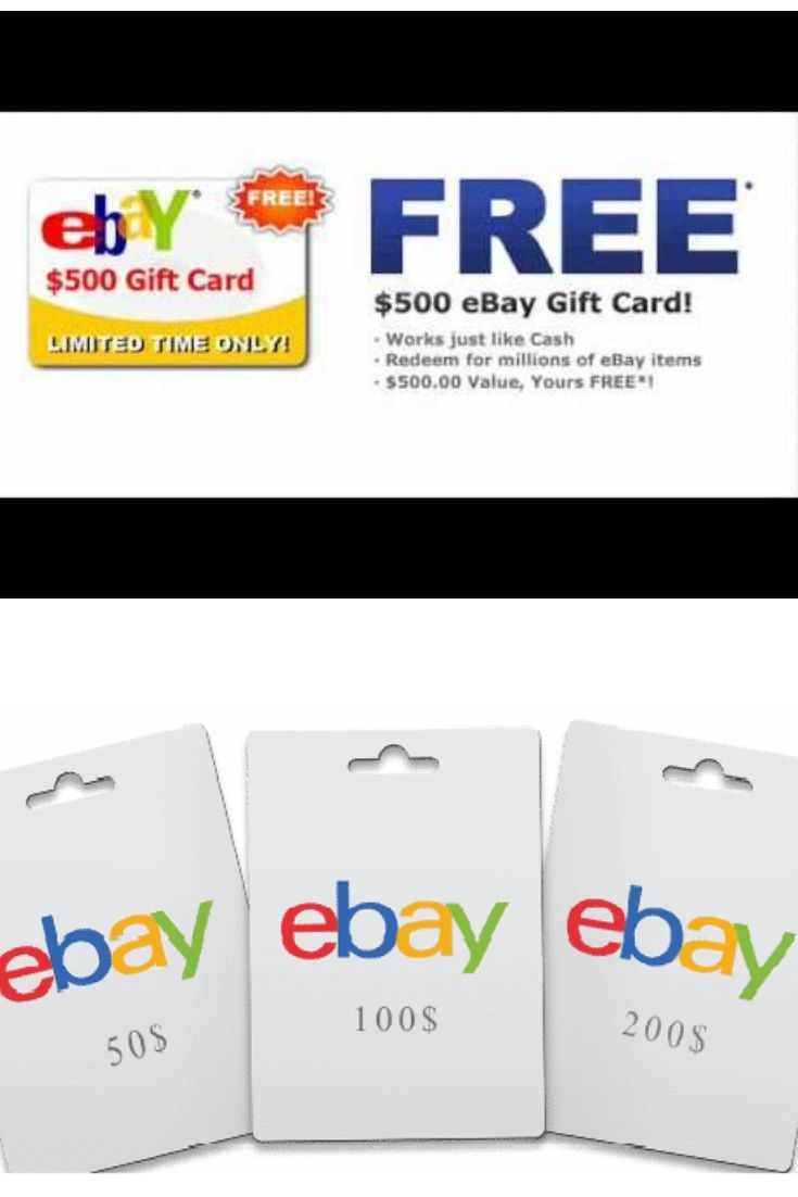 Pin By Sarmin Sultana On Free Ebay Gift Cards Ebay Gift Gift
