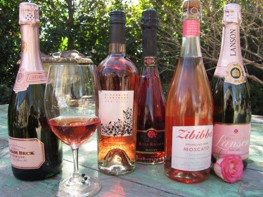 There's so much delicious rosé wine.... sparkling and still, sweet and dry... something for every taste.