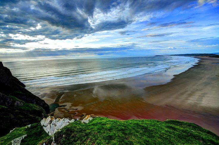 Wales-Rhossili beach by Francesco Cetta on 500px
