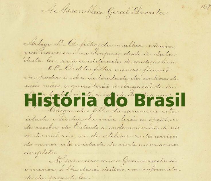 Fontes primárias para o aprendizado da História do Brasil