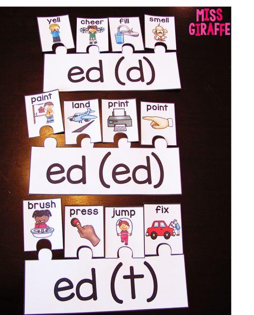 Miss Giraffe's Class: Prefixes and Suffixes Teaching Ideas for First Grade and Kindergarten