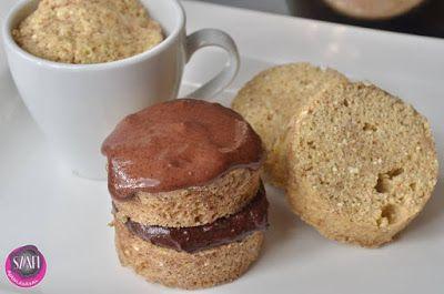 Extra diétás bögrés süti (gluténmentes, paleo recept) ~ Éhezésmentes Karcsúság Szafival