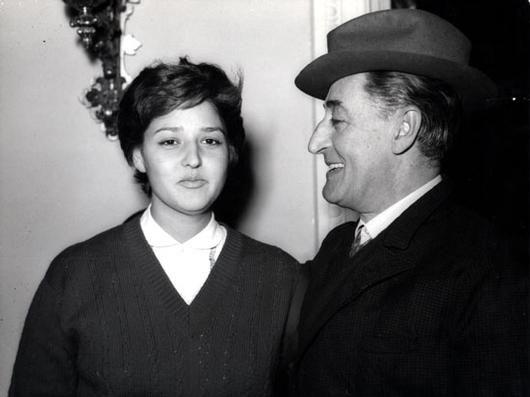 Liliana De Curti e Totò