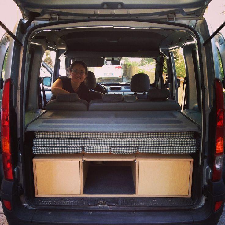 77 best kangoo camper images on pinterest camper campers and camper trailers. Black Bedroom Furniture Sets. Home Design Ideas