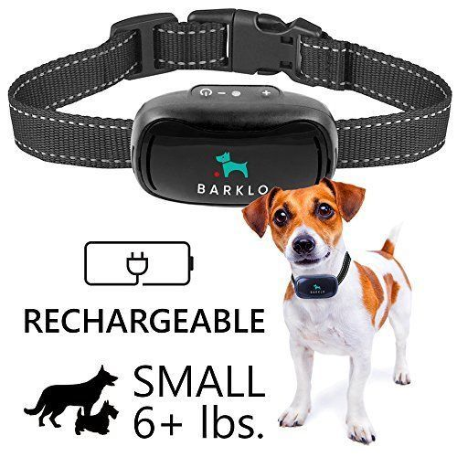 NO SHOCK, NO SPIKY PRONGS - The Barklo Mini Anti-Bark training collar is an efficient behavior modification tool that will help you train your dog to ... #barklo #rechargeable #waterproof #dogs #medium #bark #collar #tiny #small