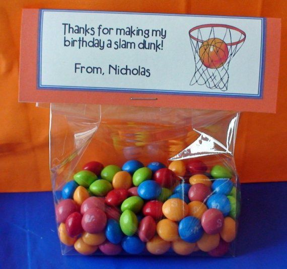 Best 25 basketball party favors ideas on pinterest for Basketball craft party ideas