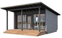 Pulpettikatto + katettu terassi