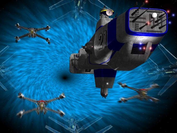 Hyperion class cruiser and starfuries babylon 5 - Spacebattles com ...