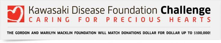 Kawasaki Disease Challenge | Sarah Chalke's Fundraiser on CrowdRise