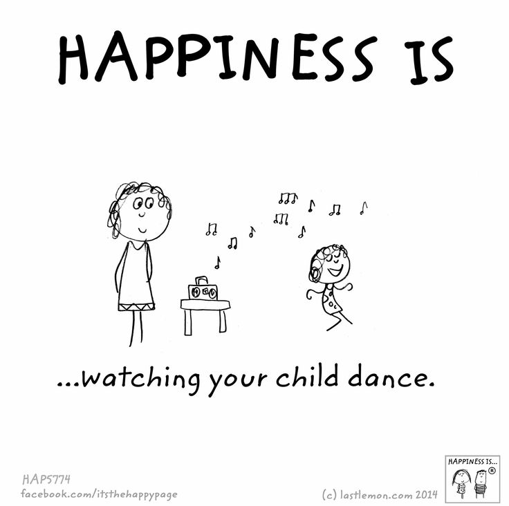 Love watching my grandchildren dance round the room when they hear music- just have to join in!