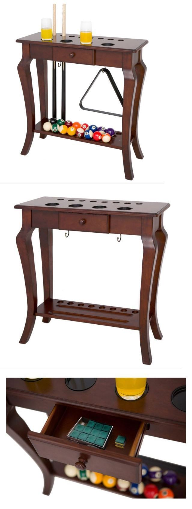 Ball and Cue Racks 75185: Pool Table Accessories Floor Cue Rack Wood Billiards Ball Holder Furniture Home -> BUY IT NOW ONLY: $352.97 on eBay!