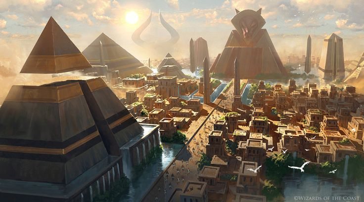 An artwork I did for the Amonkhet. ©Wizards of the Coast Facebook: www.facebook.com/grzegorz.rutk…
