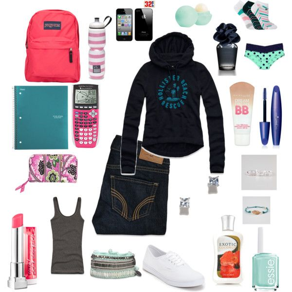 """back to school essentials"" by kayholly on Polyvore"