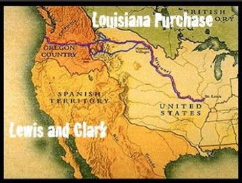 "louisiana purchase and lewis and clark powerpoint Be the first to review ""westward expansion-lewis & clark, oregon trail, gold rush, louisiana purchase"" cancel reply."
