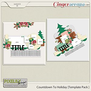 Countdown To Holiday [Template Pack 1]