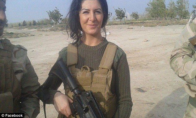 Joanna Palani message to ISIS: 'See you on the front line tomorrow'