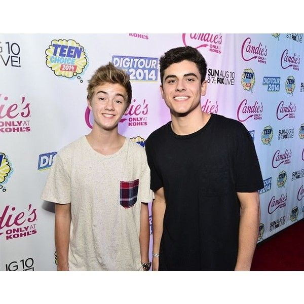 Vine Stars Jack Jack Make Rap Chart Debut ❤ liked on Polyvore featuring magcon, people, tumblr and youtubers