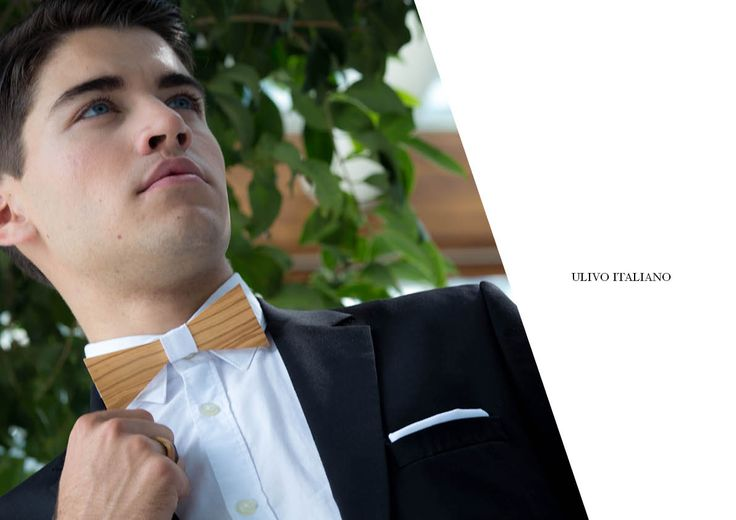 Ulivo Italiano! Business Collection MIDA morethangold #essence #wooddesign #bowtiewood #fashionable