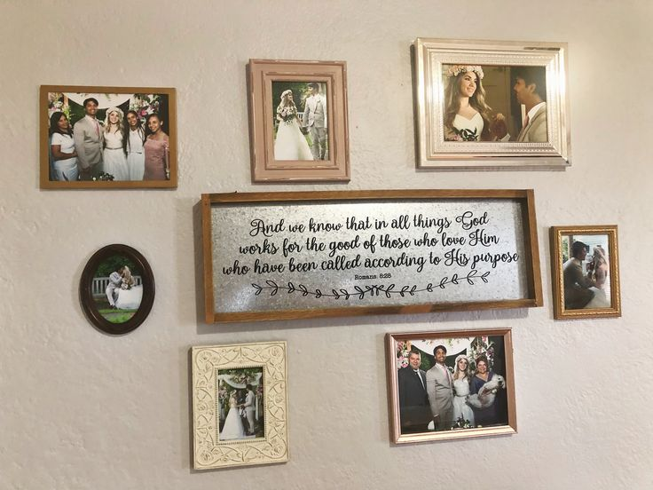 Wall Photo Collage  – Personal Photos
