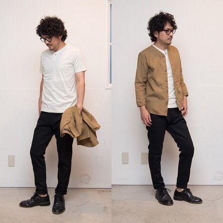 """""""軽く羽織る""""のに丁度良い、オックスフォード地の7分袖シャツ。 [AUD1629] http://www.aud-inc.com/product/1937 ベースボールシャツのデザインを採用し、カーディガン感覚でも羽織れる、今から長く使えるアイテム。  生成り×黒のインナー・パンツで晩夏を意識したカラーでコーディネート。  *Coordinate Item* Inner[AUD1678] http://www.aud-inc.com/product/2083 Pants[AUD3306] http://www.aud-inc.com/product/1916  休日となります本日も12時〜20時までの営業にて、皆様のご来店をお待ち致しております!"""