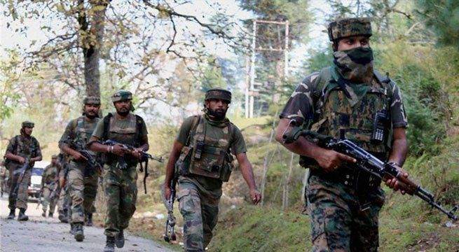 """Srinagar: A top Hizbul commander Amir Wagay active in Jammu and Kashmir's Anantnag district, was arrested in Srinagar on Friday, police sources said. """"Amir Wagay, top commander of Hizbul Mujahideen outfit, was arrested with some arms and ammunition in Srinagar district,"""" a..."""