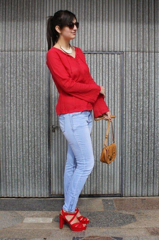 Siempre unos zapatos negros: Shoelover in red