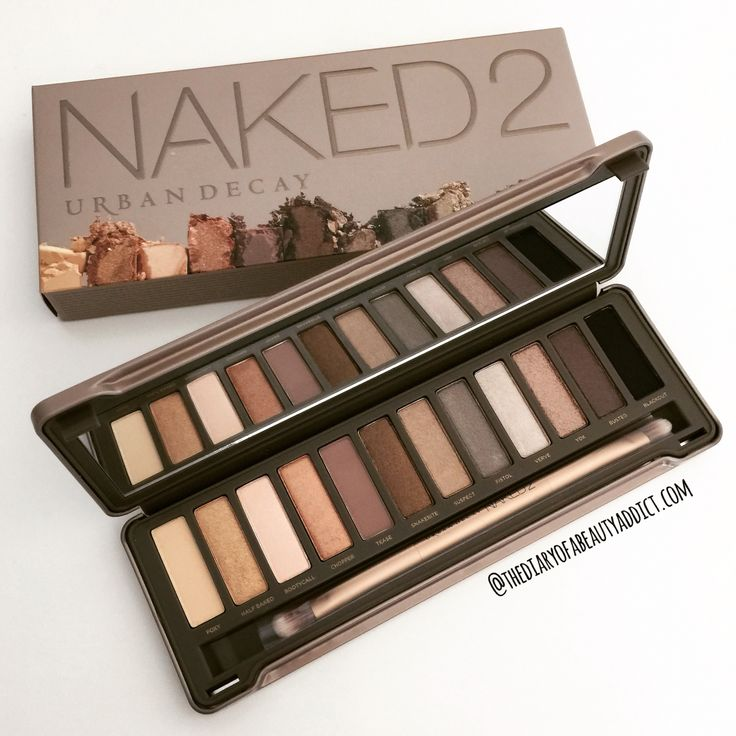 #AugustBeautyChallenge - Day TwentyThree - Favourite Eye Shadow Colour - I'm totally in love all of my Urban Decay Naked Palettes but my favourite at the moment is the Naked 2 as its a lovely warm palette and it's ideal for creating a Summer Smokey Eye! #TheBeautyAddict