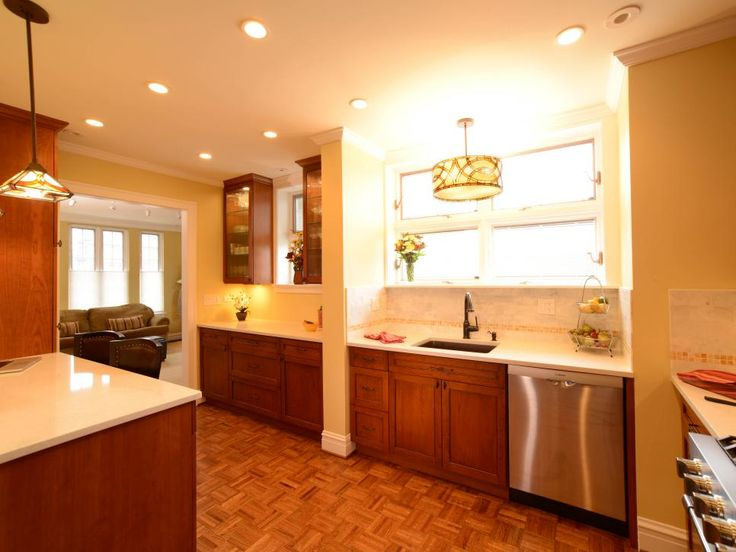 Take a peek inside this traditional condominium kitchen makeover on HGTV.com.