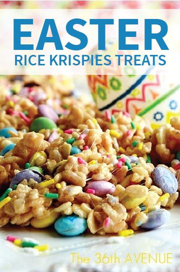 This Rice Krispies® cereal and candy trail mix is the perfect after-school snack for kids and a great treat to hide for their Easter egg hunt!