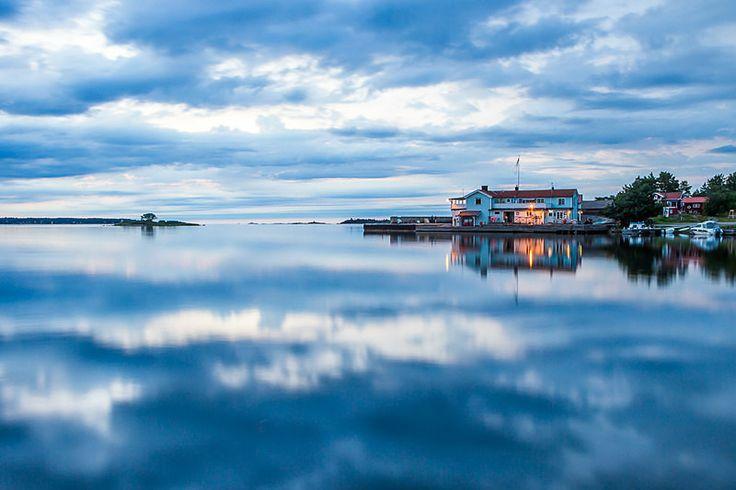 Arholma blue hour - Archipelago and seascapes