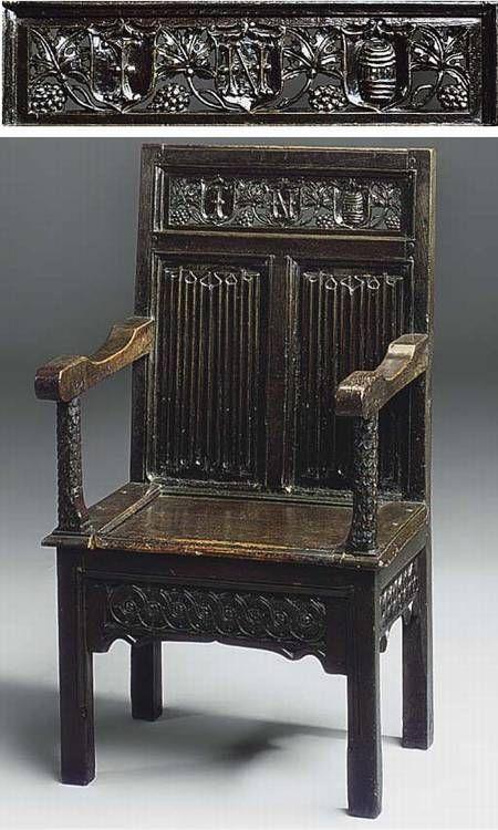 17 best images about old chairs on pinterest antiques for Tudor furnishings