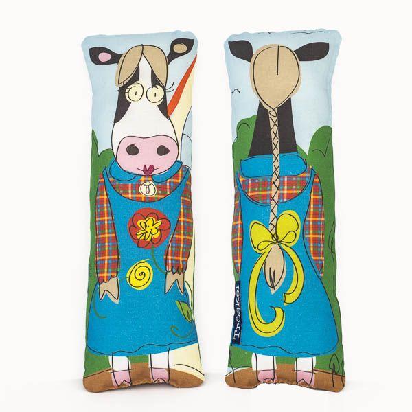 Mrs. American Cow lavender sachet from www.troskodesign.com