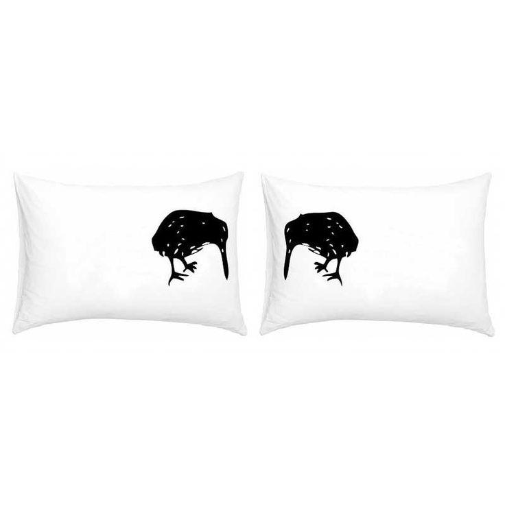 Two Kiwis Double Pillowcase Set