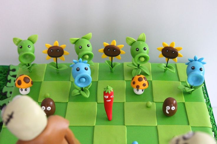 Plants Vs Zombies Cake Toppers Singapore