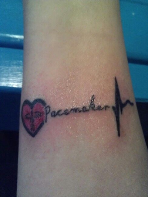 pacemaker medical id tattoo i just got pacemaker pinterest medical the o 39 jays and tattoos. Black Bedroom Furniture Sets. Home Design Ideas