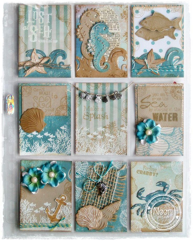 made by Karina www.creawitch.blogspot.ch Pocket letter, une autre façon de…