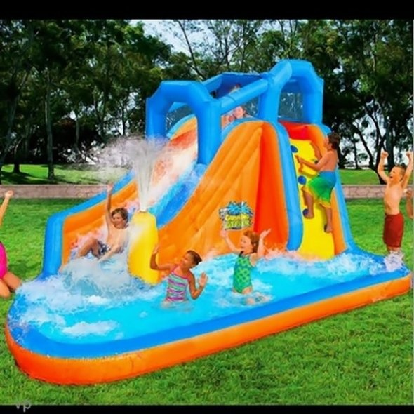 Inflatable Water Slide Az: 1000+ Images About Bouncy Castles On Pinterest