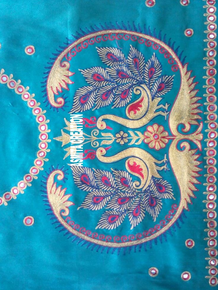 Best embroidery images on pinterest blouse designs