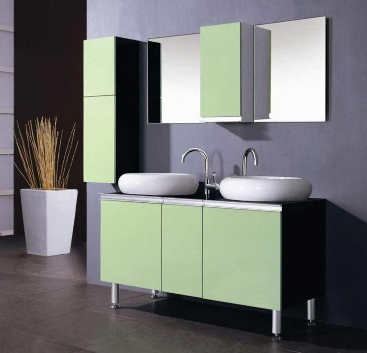 Best Light Green Bathrooms Ideas On Pinterest Small Bathroom - Green and purple bathroom for bathroom decor ideas