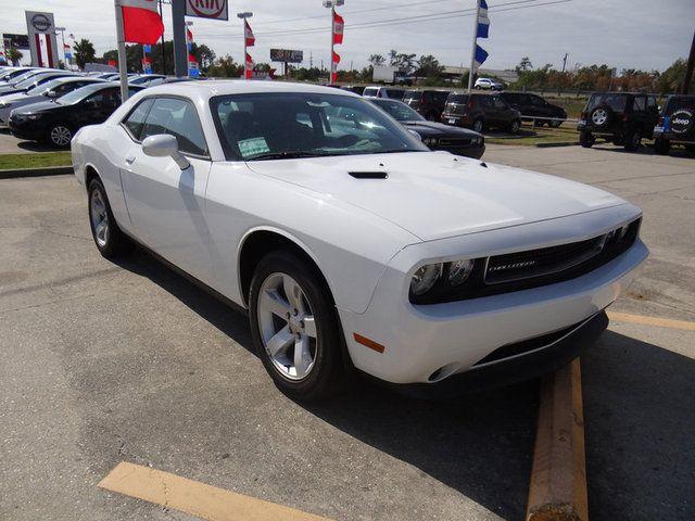 2011 white Dodge Challenger