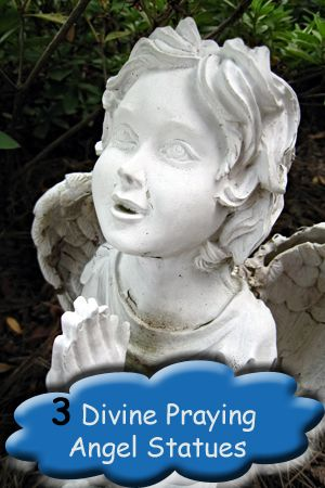 Beautiful praying angel statues for your garden, will bring a feel of peace and serenity to your outdoor space.