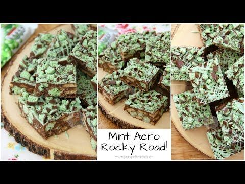 Mint Aero Rocky Road! - Jane's Patisserie