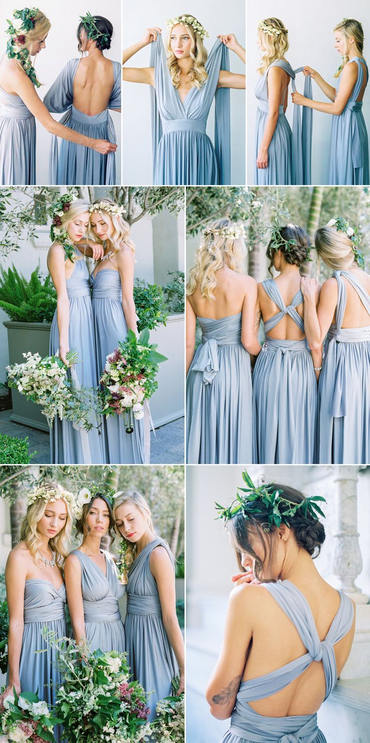 Best 25 wrap bridesmaid dresses ideas on pinterest multiway 28 super stylish convertible twist wrap bridesmaid dresses your girls will love ombrellifo Choice Image