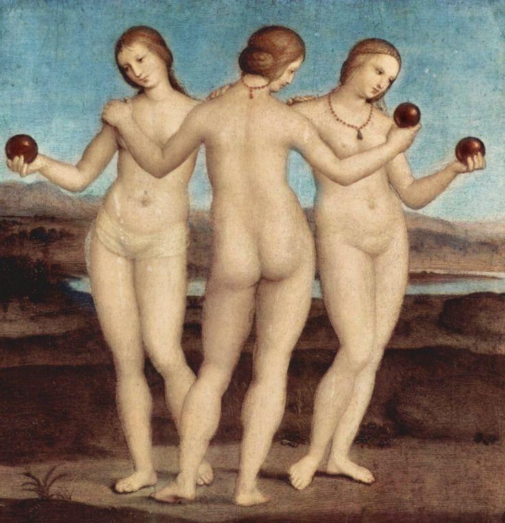 Las Tres Gracias (1504) Rafael Sanzio