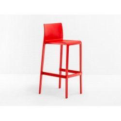 Volt Barhocker In Rot Das Dünne Und Geradlinige Design Des VOLT Von Pedrali  Wurde Von Marco