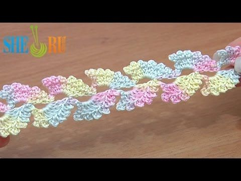 ▶ Lace Cord Free Crochet Tutorial 6 - YouTube
