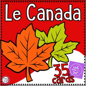 Boom Cards - Le Canada